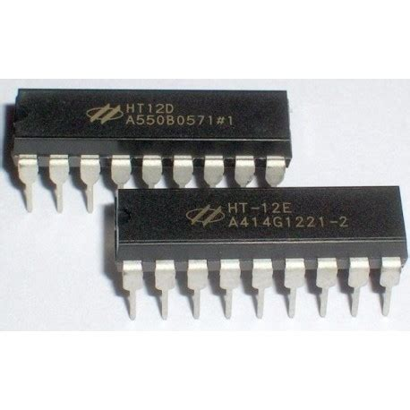 Ht12d ht12e ht12d encoder and decoder ic for rf modules