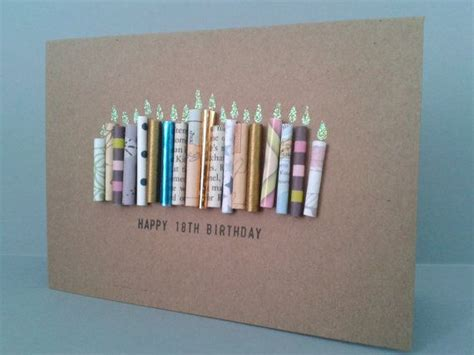 Cool 18th Birthday Cards 17 Best Ideas About Birthday Candles On Pinterest Www