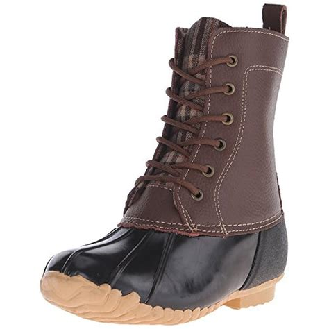 sporto snow boots womens sporto 0608 womens leather ankle duck snow boots