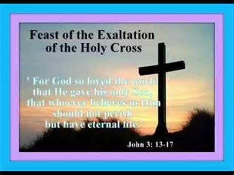 the feast of the feast of the exaltation of the holy cross 2014 msgr alberto s uy wmv youtube