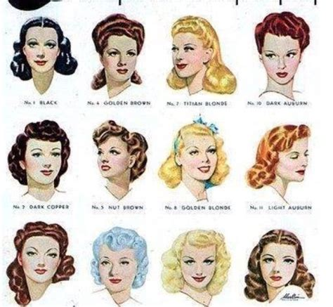 1940s womens hairstyle tutorials 1940 hair style techniques de coiffure 1940 pinterest