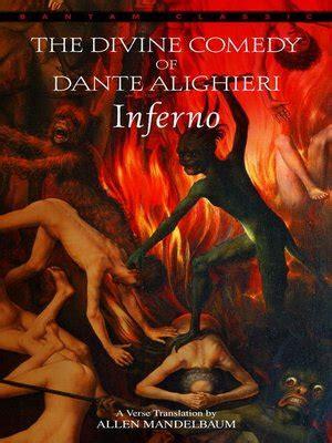 1 inferno the divine inferno the divine comedy of dante alighieri by dante 183 overdrive rakuten overdrive ebooks