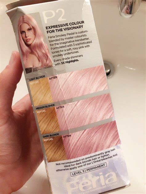 loreal rose gold hair color 25 best ideas about rose gold hair dye on pinterest