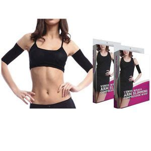 Insta Slim Compression Detox Thigh Wraps by Lose Inches And Cellulite With This Pair Of Arm Slimmer