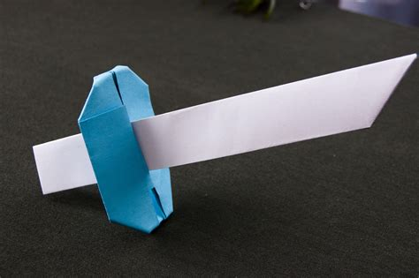 How To Make A Origami Sword Step By Step - easy origami sword