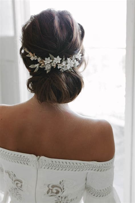 Wedding Hair With Headpiece by Versailles Floral Wedding Headpiece Tania Maras