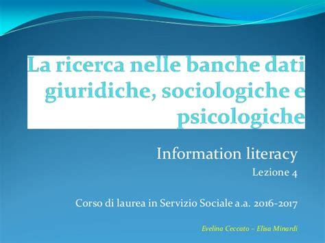banche dati giuridiche la ricerca nelle banche dati giuridiche sociologiche