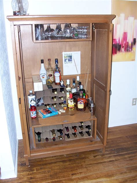 armoire liquor cabinet attic route 66 wine armoire bar caddy liquor cabinet