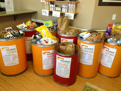 Manna Food Pantry by Chiropractic Food Drive For Manna Foodbank