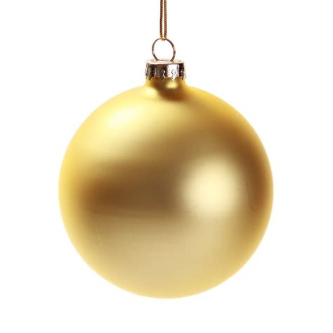 gold christmas ornaments happy holidays