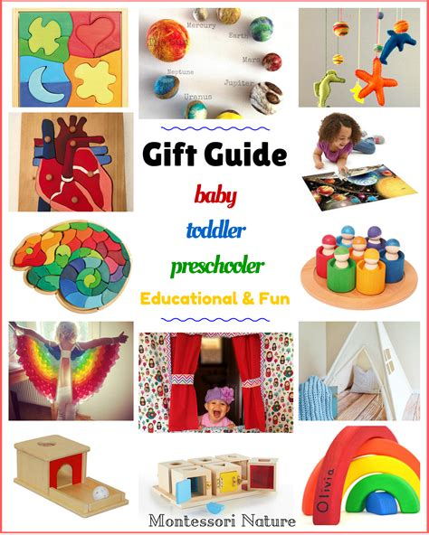 Handmade Gifts From Toddlers - gift guide for baby toddler and preschooler 0 5 yo