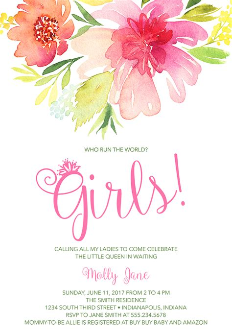 Baby Shower Wording For A by 22 Baby Shower Invitation Wording Ideas
