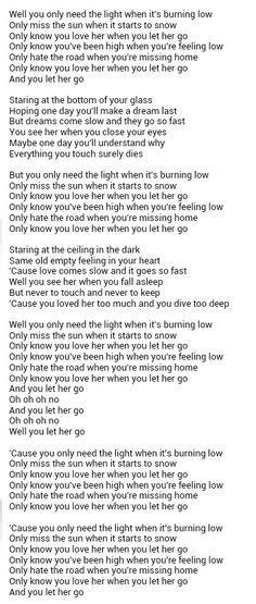 passengers let go testo 1000 images about lyric on pink lyrics