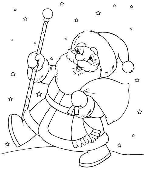 imagenes de santa claus para niños santa claus dibujos para colorear e im 225 genes