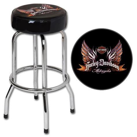 Harley Davidson Work Stool by Harley Davidson 174 Eagle Wings Bar Stool Harley Furniture