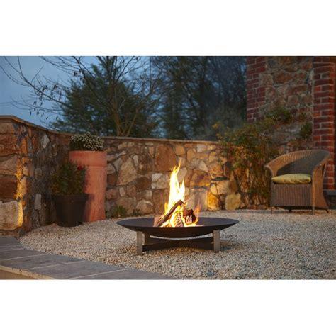 feuerstelle outdoor artepuro feuerstelle sunset durchmesser 120 cm im garten