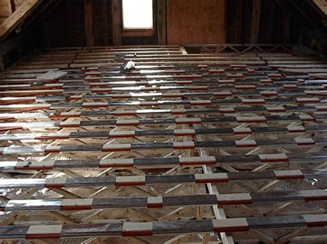 The Floor Joist Installation     DIY Radiant Floor Heating