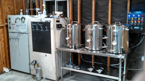 Garage Designs Ideas test firing new brewery still so much to do homebrewing