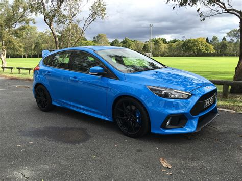cars ford 2017 ford focus rs review photos caradvice