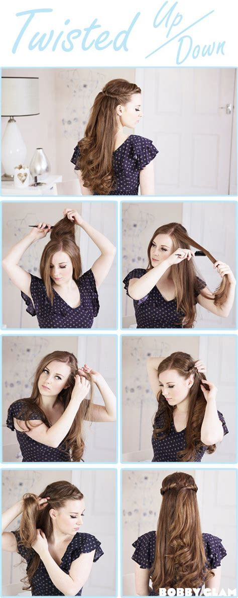 cute hairstyles tutorial 14 diy hairstyles for long hair hairstyle tutorials