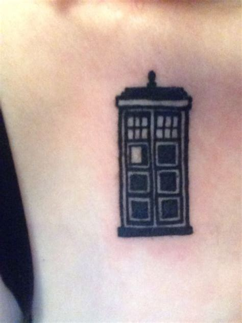 minimalist tardis tattoo pinterest the world s catalog of ideas