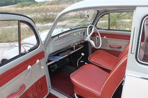 vw beetle upholstery vintage 2 tone 1962 vw beetle perfect wedding cars singapore