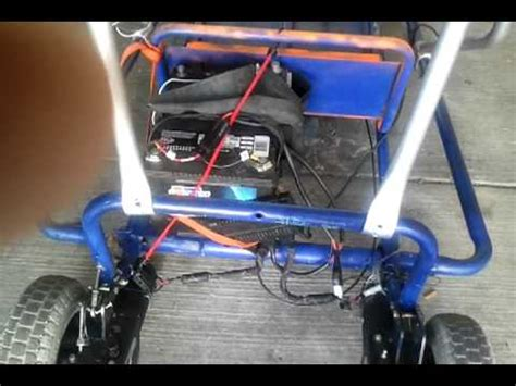 how to make a wheelchair how to make a go kart out of an electric wheelchair how to make do everything