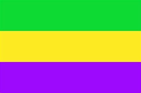 file flag of rex mardi gras colors svg