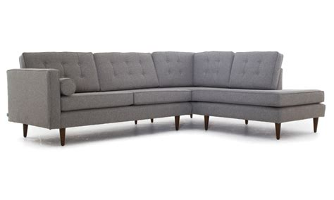 Braxton Sectional by Braxton Sectional With Bumper By Joybird