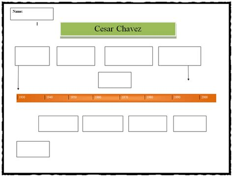 timeline template for word cesar chavez timeline template k 5 computer lab