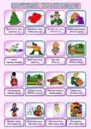 english teaching worksheets british festivals and holidays