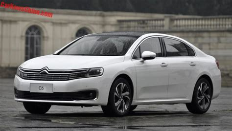 Citroen C6 by Citroen C6 To Get A 1 6 Turbo In China Carnewschina