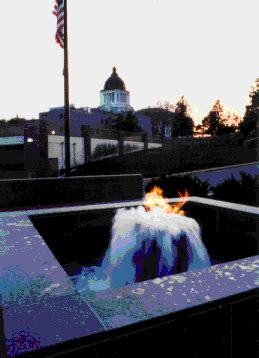 flaming fountain memorial