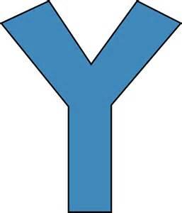 blue alphabet letter y clip blue alphabet letter y image