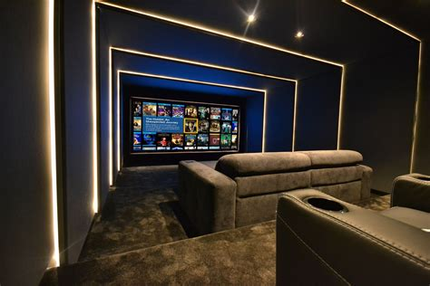 home theatre design uk finite solutions leeds showroom home cinema redesign