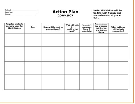 Plan Template update 18565 plan templates free 37 documents