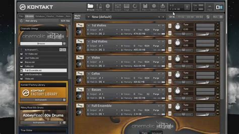 Vst Cinematic Strings 2 1 cinematic strings 2 3 ensemble patches