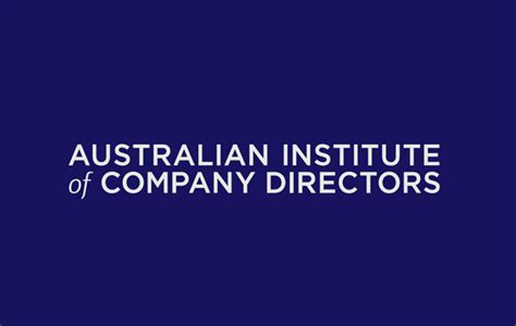 12 Month Mba Australian Institute Of Business by The Australian Institute Of Company Directors Announce