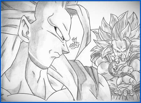 dibujos a lapiz de goku 2017 dibujos a lapiz de goku 2017 dibujos para colorear pelear
