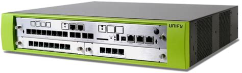 Pabx Hybrid Unify Siemens unify openscape business x3r rack mounted