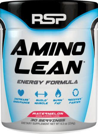 Rsp Amino Lean 30srvg amino lean by rsp nutrition pre workout in pakistan
