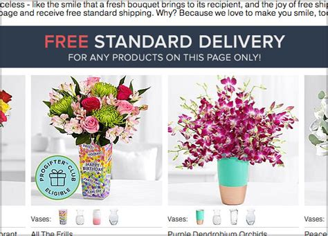 Flowers Free Delivery by 9 Proflowers Coupons Free Shipping New Promo Codes