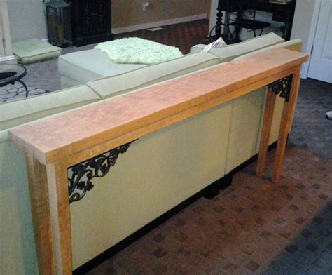 custom made sofa tables custom made sofa table by legacey custom furniture