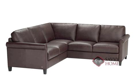 Sofa Shops In Belfast by Parma B580 Leather True Sectional By Natuzzi Is Fully