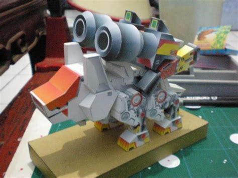 Zoid Papercraft - zoids papercraftsquare free papercraft
