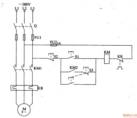 diagram component electric motor circuit
