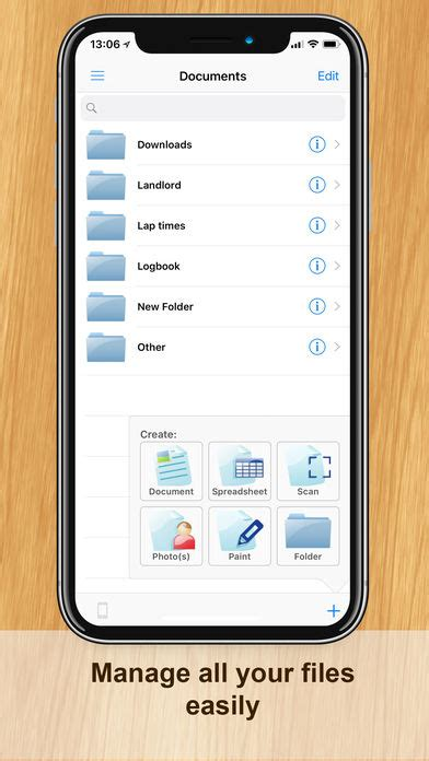 office suite for mobile documents iphone app app store apps