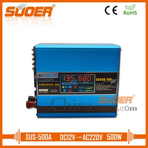 Suoer Inverter Ska 500a Dc 12v Ac 220v 500w aliexpress buy suoer 12v 220v inverter 500w dc to ac solar power inverter with built in