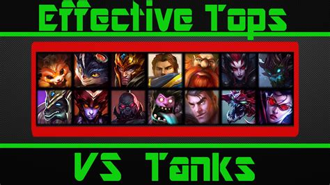 best top laners s5 effective top laners vs the tank meta youtube