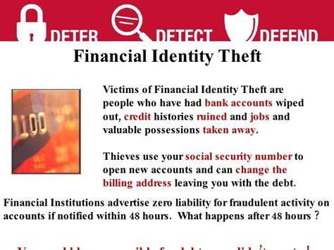 Denied Employment Because Of Background Check Identity Theft Presentation